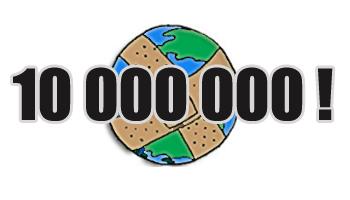 10 000 000 visiteurs