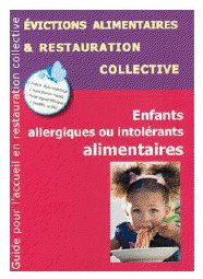 guide cantine et allergies