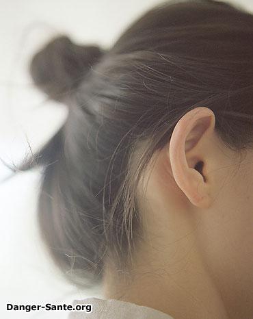 oreille de femme