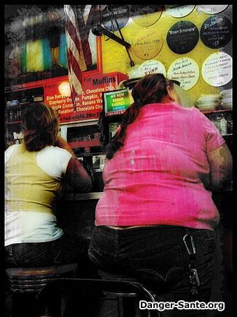 femme avec de l'obésité un surpoid