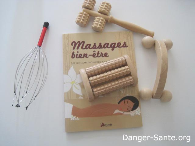 Coffret d 39 accessoires de massage pour homme femme kit de massage - Accessoires de massage ...