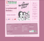site sur le préservatif féminin