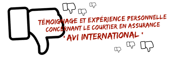 Avis sur AVI international