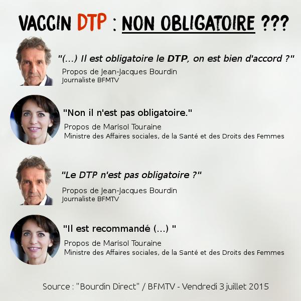vaccin dtp en france