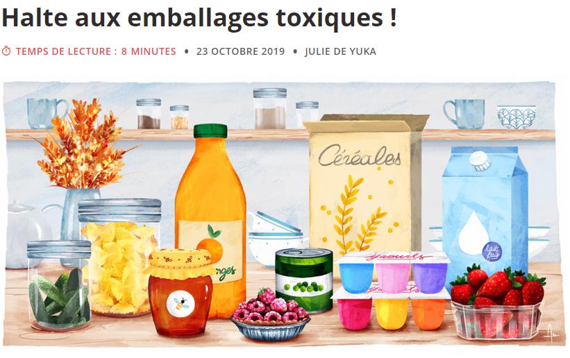 emballage toxique