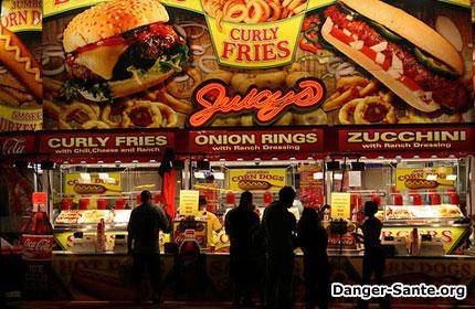 les restaurants fast food