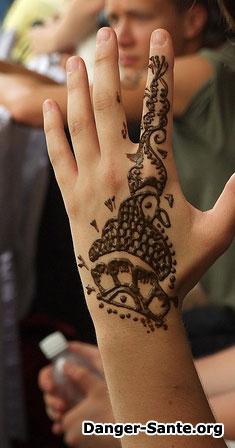 photo henné