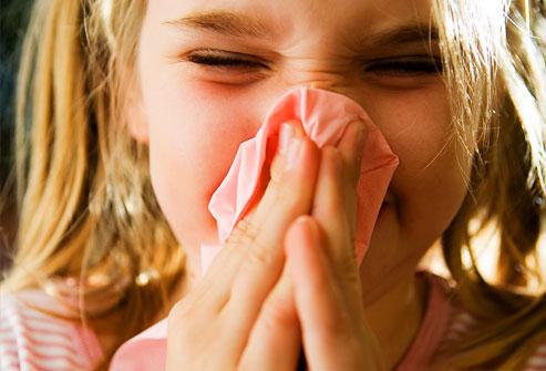 premiers symptômes d'allergies aux acariens